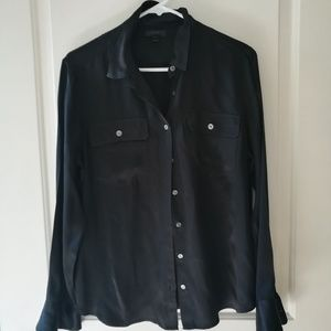 J. Crew Blythe silk shirt